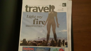 burning man cover