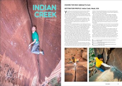climber 105 - indian creek 1
