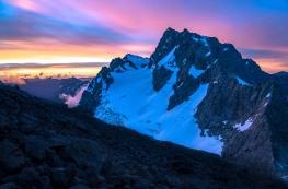 DerekCheng_AG_sunset over mt patuki_Fiordland_Jan2021